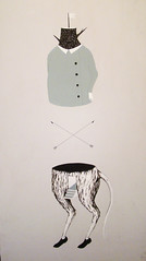 (Chiara Fuc) Tags: wood illustration painting rat panel double meow amantes chiarafuc stetocefalo stefanogioda