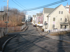 In a Smaller Town (aaron.knox) Tags: street houses boston ma massachusetts powerlines roxbury