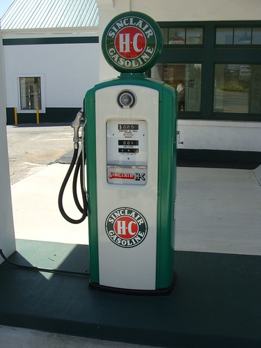 Sinclair Gas Pump (Cumming, Ga.)
