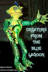 Creature (dragontheater) Tags: man halloween monster price kids wolf theater dragon vincent dracula puppets frankenstein monsters mummy creature pumplin egore
