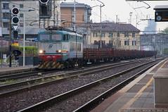 E655-165 (Raffaele Russo (LeleD445)) Tags: railroad steel milano cargo container pax transito industria lombardia lecco stato greco trenitalia ferro pirelli traxx dello ansaldo ferrovie padania e656 caimano railfans e655