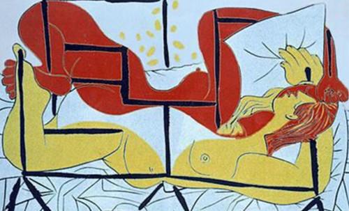"""Genealogía de las Soñantes, versiones de Lucas Cranach el Viejo (1534), Giorgione (1510), Tiziano Vecellio (1524), Nicolas Poussin (1625), Jean Auguste Ingres (1864), Amadeo Modigliani (1919), Pablo Picasso (1920), (1954), (1955), (1961). • <a style=""""font-size:0.8em;"""" href=""""http://www.flickr.com/photos/30735181@N00/8747946160/"""" target=""""_blank"""">View on Flickr</a>"""