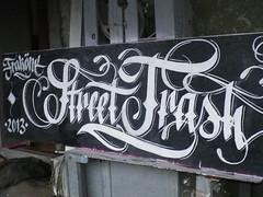 Street Trash (FrakOne) Tags: calligraphy calligraphie calligraffiti frakone
