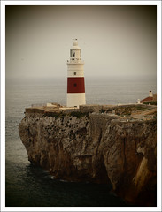 Trinity Lighthouse at Europa Point (Ben.Allison36) Tags: rock olympus empire british gibraltar overseas e600 territory rockofgibraltar trinitylighthouseateuropapoint