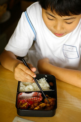 Bento (akiko@flickr) Tags: boy food japanese bento