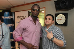 NFL star Plaxico Burress on the Covino & Rich Show (covinoandrich) Tags: covino rich show siriusxm satellite radio nfl football plaxico burress pittsburg steelers