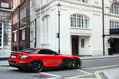 Mansory. (Alex Penfold) Tags: red black slr london cars alex car mercedes benz harrods knightsbridge arab supercar qatar supercars merc penfold mansory renovatio 80808