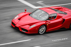 (Tomasz Majewski) Tags: red cars car de super ferrari enzo catalunya panning circuit