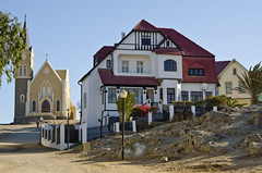German Architecture (firstfire53) Tags: africa namibia luderitz germanarchitecture