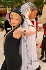 130928-5450 Anime Weekend Atlanta (WashuOtaku) Tags: atlanta anime georgia cosplay frankenstein medusa animeweekendatlanta souleater  renaissancewaverlyhotel nikond800   awa19