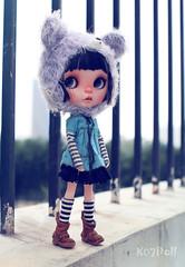 Kaya (k07doll) Tags: cute bigeyes doll sweet blythe custom kaya cubby blythedoll ebl customblythe blythecustom customeblythe k07doll