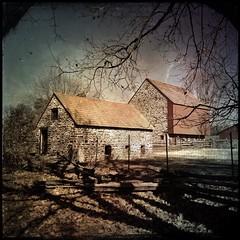 (Lou Liuzzi) Tags: barn rural landscape farm scenic wowiekazowie lou19403 hipstamatic