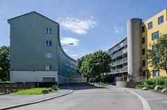 Street and houses (AstridWestvang) Tags: buildings stree oslo