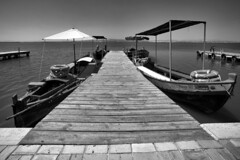 Embarcadero (Jose_edit) Tags: albufera atardecer orilla del mar agua costa paisaje aire libre litoral muelle cielo arquitectura puente
