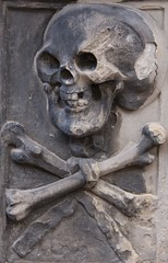 Holyrood Abbey (richardr) Tags: holyrood abbey holyroodabbey skull crossbones macabre scotland scottish edinburgh britain british greatbritain uk unitedkingdom europe european history heritage historic old