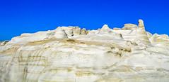 Alien Planet (Yannis_K) Tags: milos milosisland sarakiniko beach rockformation rocks greece alien landscape lunar blueskies minimal minimallandscape yannisk nikond3100 nikon1855mmf3556vr