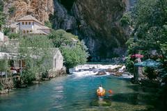 Blagaj Dervish House (Nuuttipukki) Tags: blagaj source quelle buna river fluss kanu dervish derwisch kloster bosnia travel hercegovina bosnien