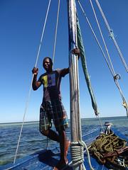 Captain, Mapapay Dhow Safari, Vilanculos, Mozambique (dannymfoster) Tags: africa mozambique vilanculos indianocean people africanpeople man dhow