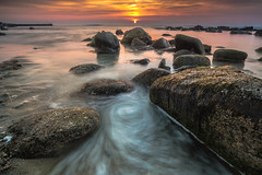 Sennen Cove,Cornwall (Darrell Burgess) Tags: cornwall sennen cove sunset beach sony a99 carl zeiss 1635 28