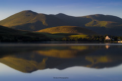 Opposite (Nico photographies) Tags: 50mm18 600d canon water sunrise sky french france forest reflection lake landscape montagnes mountains chanedespuys house francelandscapes auvergne amazing parcnaturelrgionaldesvolcansdauvergne paysages