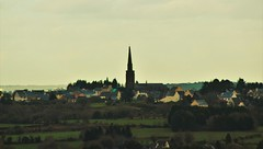 (matmiata) Tags: bretagne brittany finistere bzh pennarbed commana montdarree blackmountain montagnenoire paysages landscape village eglise church nuages clouds canon 700d