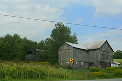 IMG_8850 (bulletproofsoul67) Tags: nature barn farm pennsylvania corn country waynecounty