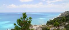 Megali Petra, Lefkada (rotor_flux) Tags: lefkada greece lefkas blue bluegreen nikon nikond90 tokina1224 tokina nikond90tokina