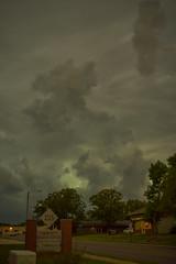 Storm Over Topeka (thefisch1) Tags: storm cloud wind shelf roll front thunder highway kansas flint hills nikor nikon rain calendar interesting weather photo tree mammata oogle sky