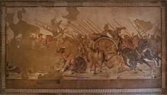 La battaglia di Isso - Museo Nazionale - Napolo (spalluzza) Tags: napoli museoarcheologiconazionale pompei mosaico casadelfauno alessandromagno battagliadiisso