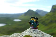 Quiraing ensemble (Chantal van der Ende-Appel) Tags: lego minifigs scotland quiraing isleofskye bagpiper