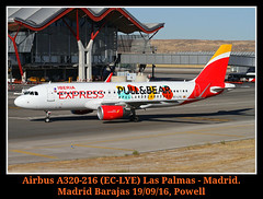 Iberia poniendo Stikers! (Powell 333) Tags: airbus a320216 eclye airbusa320216 airbusa320 320 320216 a320 iberiaexpress iberia express avin avion aircraft airport air aeropuerto aviones aena airways airlines canoneos7d eos7d canon eos 7d powell spain espaa madrid lemd