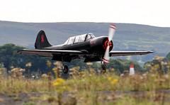 G-SPUT (goweravig) Tags: gsput visiting aircraft swansea wales uk yak52 swanseaairport