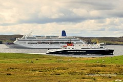 P&O vs Calmac (CraigAllanPhotography) Tags: ferry ship calmac po astoria ships lewis lochseaforth seaforth mv mvoriana minch sailing seas harris