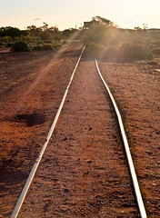 Rails to Silverton j_s (peterb666) Tags: silverton nsw railway abandoned