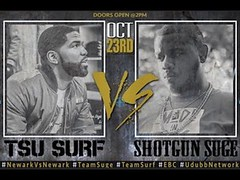 TSU SURF VS SHOTGUN SUGE  WEIGH IN... (battledomination) Tags: tsu surf vs shotgun suge  weigh in battledomination battle domination rap battles hiphop dizaster the saurus charlie clips murda mook trex big t rone pat stay conceited charron lush one smack ultimate league rapping arsonal king dot kotd freestyle filmon