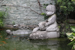 Guangxiao Temple, Guangzhou/ 2458 (Petr Novk ()) Tags: guangxiaotemple  guangzhou canton  guangdong   asia asie statue sculpture    art religion  buddhism buddhisttemple buddhist temple   pool water    liferelease animal turtle snake fish