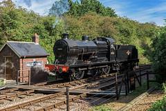 Simmering (4486Merlin) Tags: 30541 england europe exsr heritagerailways midlands nenevalleyrailway railways srqclass steam transport unitedkingdom yarwelljunction cambridgeshire gbr nvrsouthernsteamgala