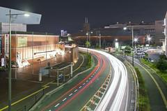 Yamato Trails (spiraldelight) Tags: ef24105mmf4lisusm eos5dmkii hiroshima  kure  traffic light trails night