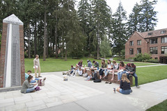 Orientation 2016 (univpugetsound) Tags: classroom orientation ups university puget sound loggers passages perspectives prelude