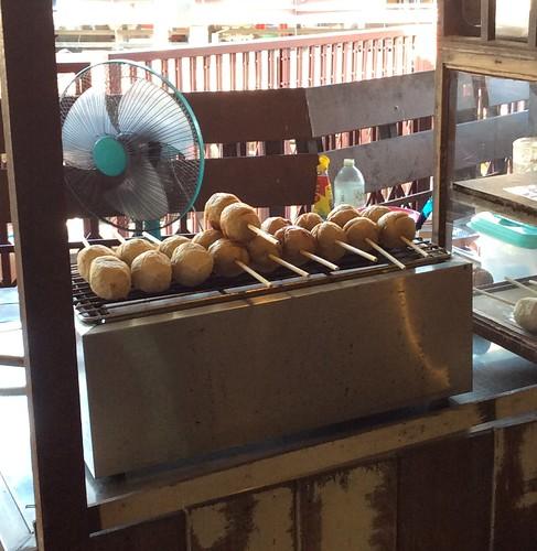 Street Food at Plern Warn, Hua Hin, Thailand