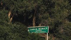 Santa Monica (bbandaa) Tags: california cali la los angeles angels folage nature landscape highway pacific coast pch malbu urban foliage sign santa monica beach