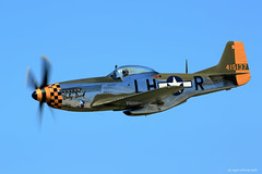 P-51 Mustang - Baby Duck (dpsager) Tags: airshow2016 babyduck cleveland clevelandnationalairshow dpsagerphotography military ohio p51mustang wwii aircraft airplane