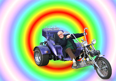 Never too Old for Fun (foggyray90) Tags: boomtrikes oldman seniledelinquent nevertooold vehicle tricycle motortrike fun