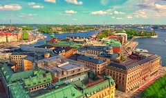 Sony Xperia Z5 (imtiazqr) Tags: stockholm kungsträdgården kaknästornet skyliner grandhotelstockholm strandvägen