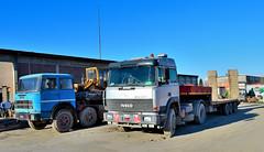 iveco 190.42 turbostar (riccardo nassisi) Tags: truck camion abbandonato abandoned rust rusty relitto rottame ruggine ruins scrap scrapyard epave cava piacenza san nicol
