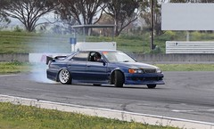 Toyota X100 Chaser (Runabout63) Tags: toyota chaser drift mallala