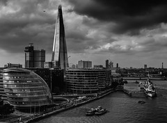 Dark Days a Cometh (Peter Murrell) Tags: cityhall shard london thames apocalypse