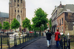 On a walk in Dordrecht (Snap Man) Tags: 2001 churchofourlady dordrecht grotekerk jericavandiem marjovandiem netherlands southholland byklk church