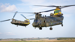 """""""Wokka formation"""" (Steve Matterface) Tags: hc4 chinook jointhelicoptercommand 100anniversary nook nelly royalairforce pegasus peggy nellie raf 27squadron peggie 28squadron 100years 27sqn helicopter 28sqn boeingvertol mk4 wokka anniversary odiham wokkaformation"""