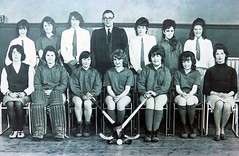 Sporty girls (daviddb) Tags: vintage jolly hockey sticks